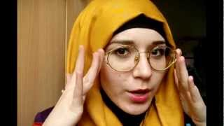 Hijab Tutorial l Simple knot