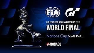 [Español] FIA GT Championships 2018 | Nations Cup | Final mundial | Semifinal
