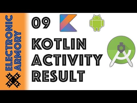 Returning Data From Activity - Kotlin Android - 09