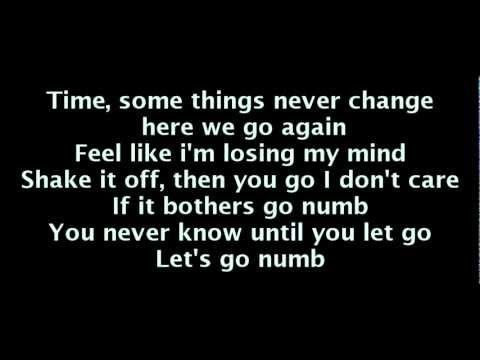 Usher - Numb (lyrics)