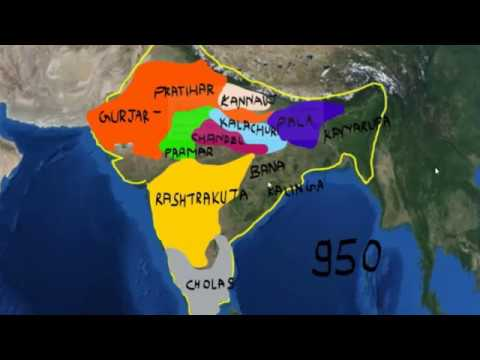 Empires in India from 725 AD TO 1200 AD EXPLAINED IN SHORT
