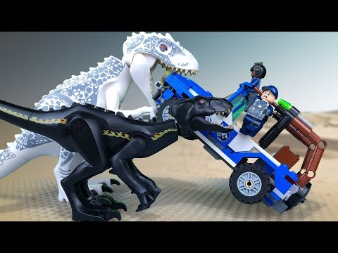 LEGO Jurassic World 🔴 Indoraptor Vs Indominus Rex 🔺 FULL Movie. Season  1