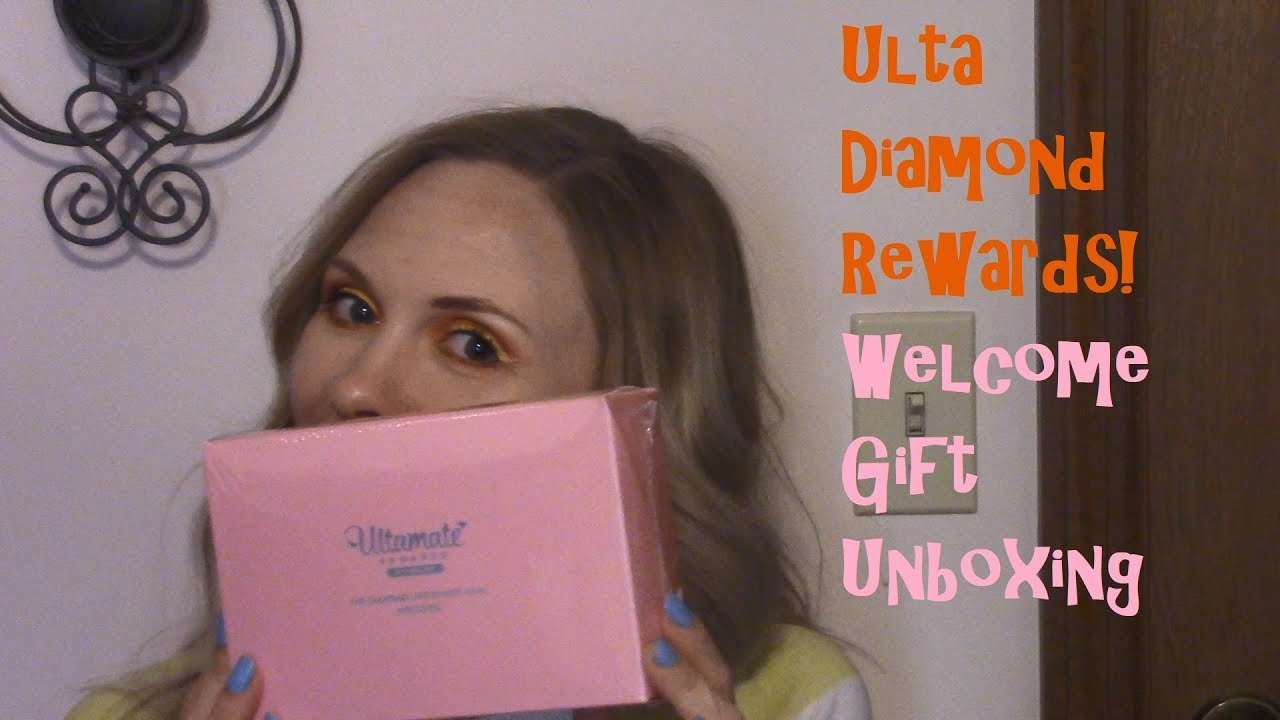 Ulta Diamond Rewards Welcome Gift And More