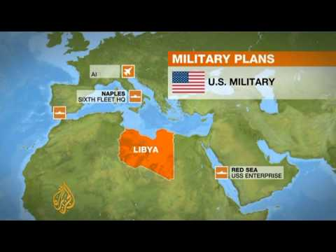 The military option against Libya