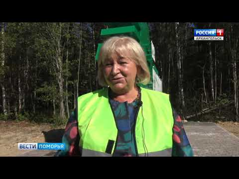 В Устьянах завершились работы по проекту «Безопасные и качественные автомобильные дороги»