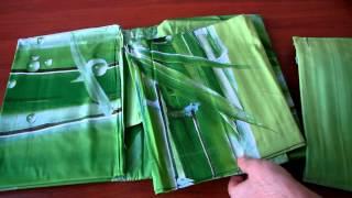 Постельное бельё из сатина 3D - ФМ - РС26(Ткань: сатин, 3D фото-печать Состав: 100% хлопок Основной цвет: зеленый Упаковка: подарочная Производитель:..., 2014-03-24T08:42:20.000Z)