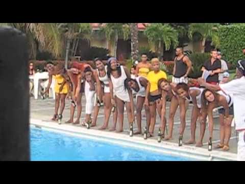 Dominican Republic Colibri Hotel Party Sosua 742010 YouTube