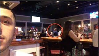 DRUNK MAN DID THIS IN A RESTAURANT?!