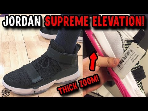 New Jordan Supreme Elevation Initial Thoughts! Full-Length Zoom + Woven Upper!