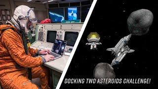 Docking two asteroids together Reddit Challenge! (Kerbal Space Program)