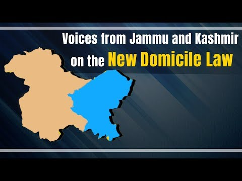 Has The New Domicile Law Betrayed People Of J&K? Ground Report