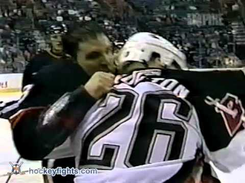 Jason Wiemer vs Eric Boulton Oct 10, 2002