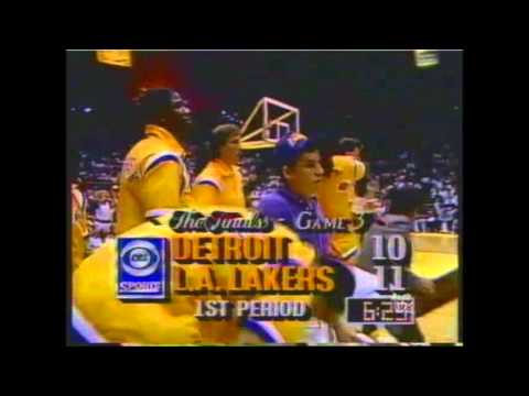 1989 nba finals game3 Los Angeles Lakers - Detroit pistons