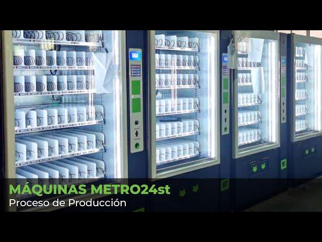 Máquinas METRO24st - Proceso de producción