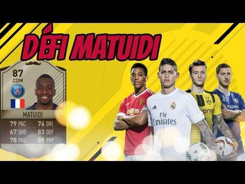 FIFA 17- DÉFI CRÉATION D'ÉQUIPE BLAISE MATUIDI