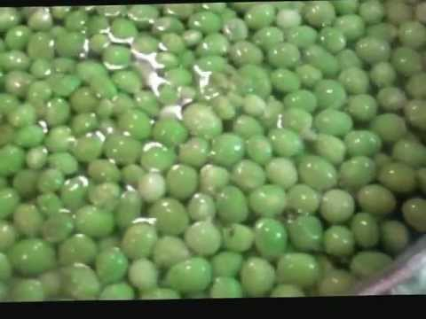 How to Freeze Peas Recipe