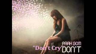 [MP3 DOWNLOAD] Park Bom- Don