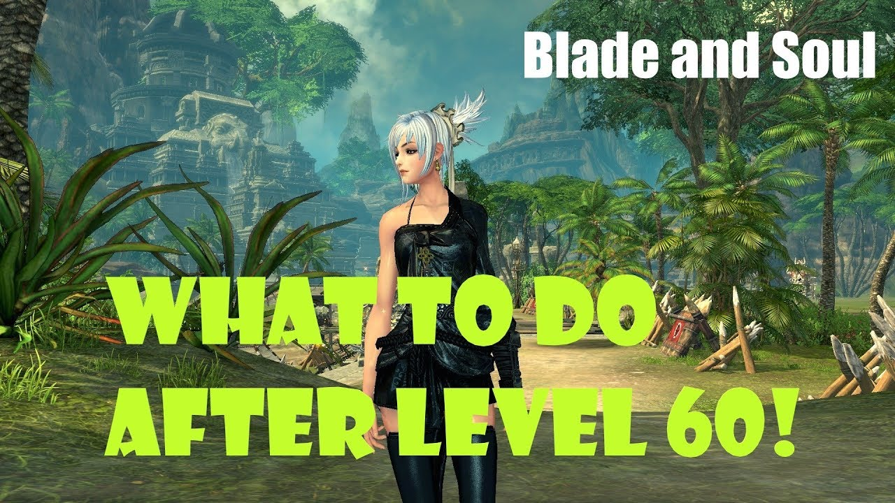 Blade And Soul What To Do After Level 60 New Returning Player