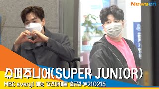 슈퍼주니어(SUPER JUNIOR) 신동X은혁, '스윗한 은혁의 하트와 신동' (주간아이돌) …