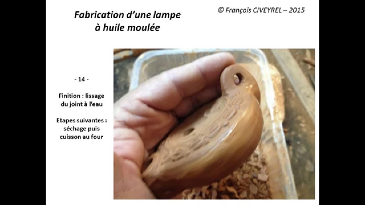 Fabrication D Une Lampe A Huile Moulee Youtube