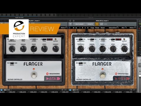 Review    ADA Flanger For UAD 2 By Brainworx