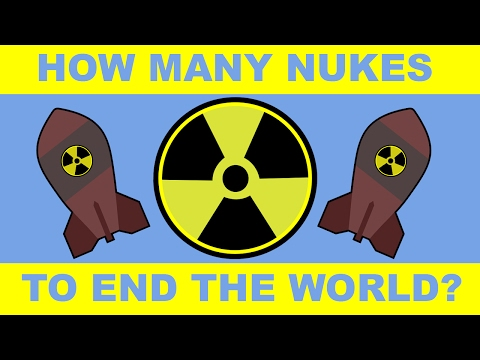 How Many Nukes Would it Take to Eradicate Humanity?