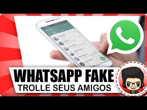 Whatsapp fake! Veja como trollar seus amigos no App