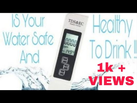 Is Your Water Safe And Healthy To Drink !!!