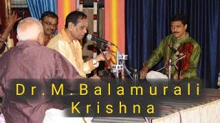 Dr.M.BALAMURALI KRISHNA -SAMAJA VARA GAMANA-HINDOLAM PART 1.
