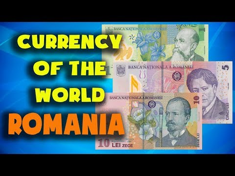 Currency Of The World - Romania. Romanian Leu. Romanian Banknotes And Romanian Coins