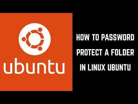 How To Password Protect A Folder In Linux Ubuntu