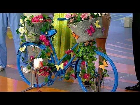 Жить здорово! Необычное использование велосипеда. Советы телезрителей.(26.07.2013)