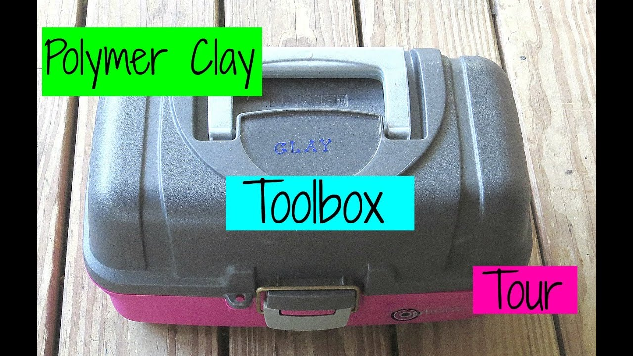 Polymer Clay Tool Box Tour