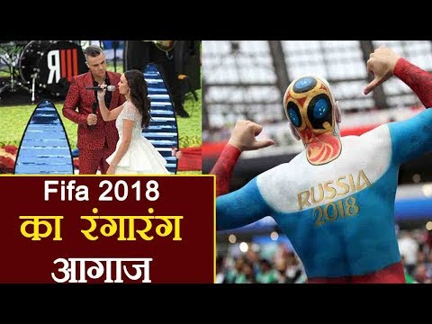 Fifa 2018 opening ceremony: Robbie Williams entertains Moscow , Putin welcomes world |वनइंडिया हिंदी