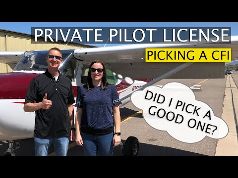 Picking The Right Flight Instructor   Choosing a CFI