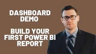 بناء أول Excel Power BI لوحة التقرير - البرنامج التعليمي سريعة - الحلقة 48