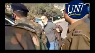 DySp sheikh Aadil removing film from the SUV of vice chancellor part 2