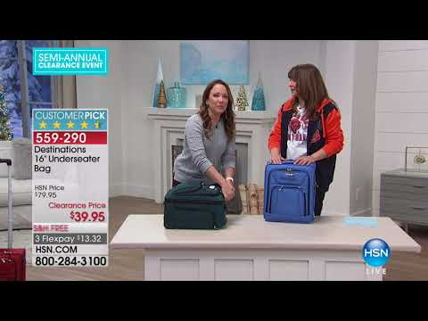 HSN | Travel Solutions Clearance up to 50% Off 12.23.2017 - 08 AM