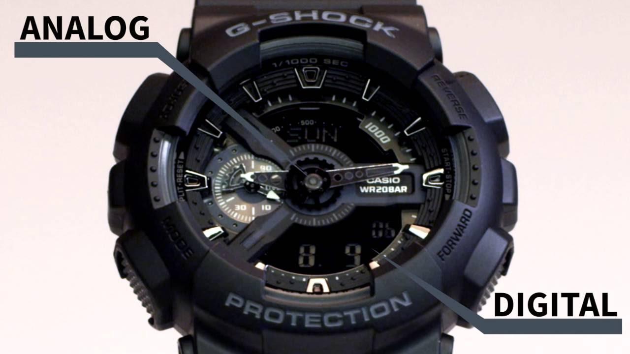 Casio G-shock GA-110-1B *Unboxing - YouTube