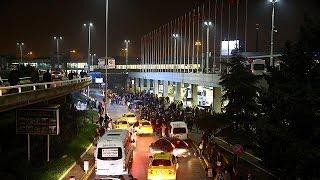 إغلاق مطار أتاتورك بعد تبادل إطلاق نار بين الشرطة ورجلين.. فيديو