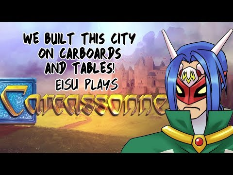 Eisu Plays: Carcassonne - Tiles and Tactics |