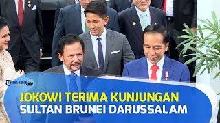 Presiden Jokowi Terima Kunjungan Sultan Brunei Darussalam, Istana Merdeka
