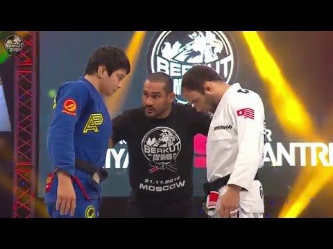 Paulo Miyao vs Samir Chantre at Berkut Jiu Jitsu 2