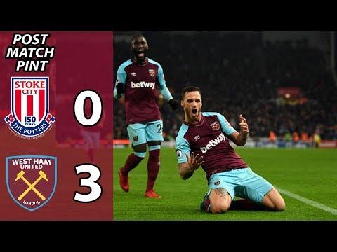 Post Match Pint | Stoke 0 West Ham 3
