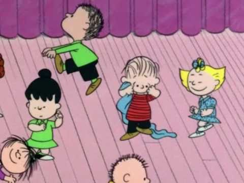 A Charlie Brown Christmas funny dance scene (HQ) - YouTube
