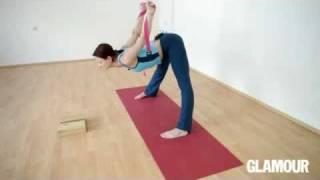 Асаны и позы в положении стоя: школа йоги Glamour. Урок №3