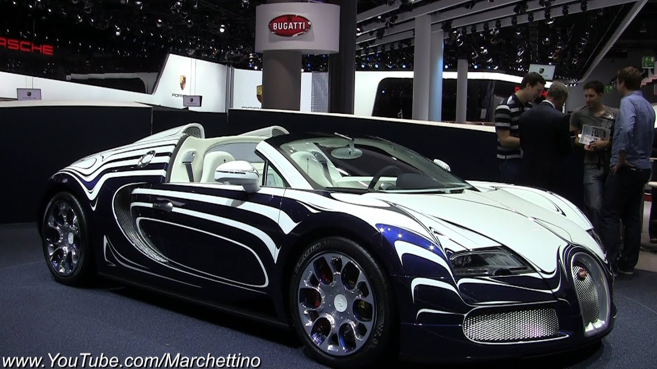bugatti veyron l 39 or blanc 1 of 1 youtube. Black Bedroom Furniture Sets. Home Design Ideas