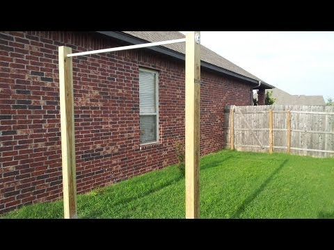 DIY Extreme Outdoor Pullup Bar