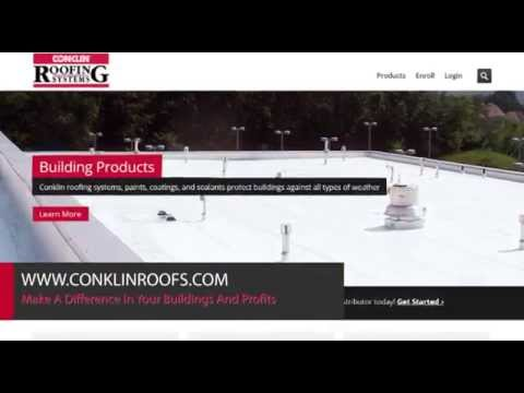 Conklin Roofing Systems Commercial Youtube