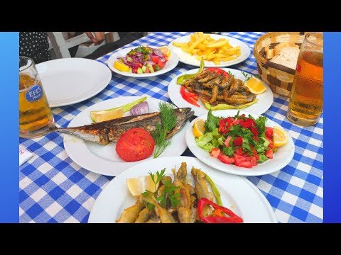 SEAFOOD FEAST in fishing village | Bosphorus CRUISE to BLACK SEA Istanbul | BEST FOOD in TURKEY